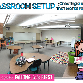 Setting Up Your Classroom