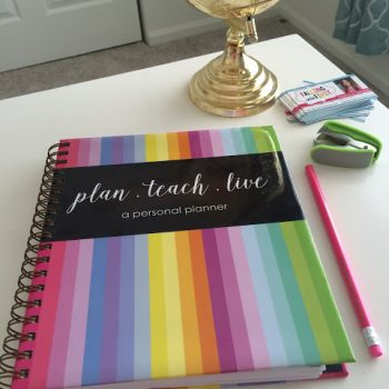 A Modern Teacher Planner Giveaway!
