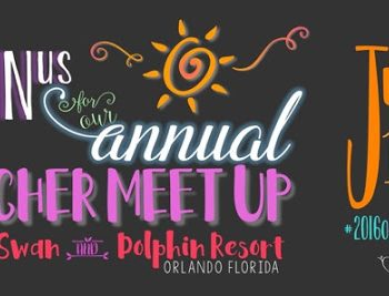 Only ONE Month til the Orlando Teacher Meet-up!!